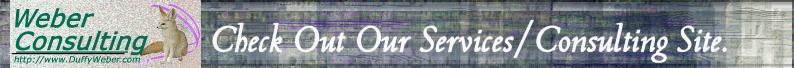 DuffyWeber.com - Weber Consulting original services site